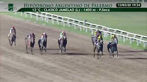 Nuestra candidata SABINA PRINCESA $2,25 ganó con autoridad el Clásico Jamelao (L)
