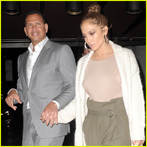 Jennifer Lopez Helps Alex Rodriguez Celebrate His Birthday!