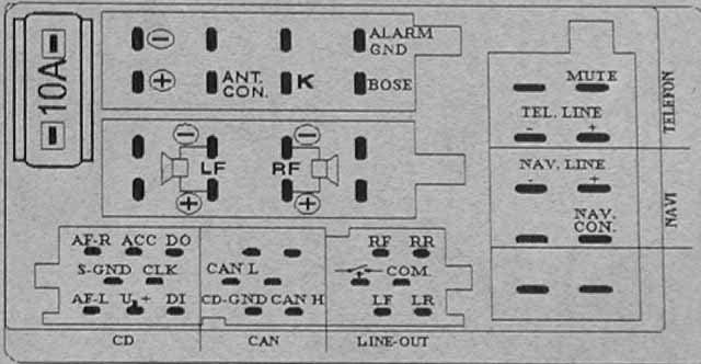 audi symphony wiring