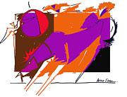Artist  Singh - Purple Horse