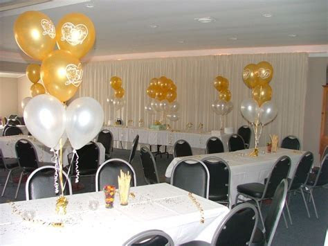 50th wedding anniversary decorations ideas   Google Search