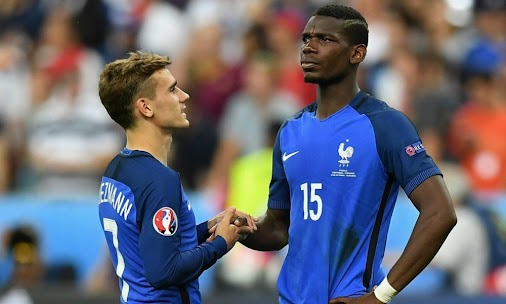 Deschamps and Griezmann defend Pogba whistles -  - #france #futbol #GRIEZMANN #international #deschamps...