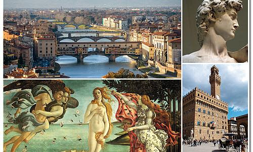 Florence in one day Guided Tour with Accademia and Uffizi Galleries