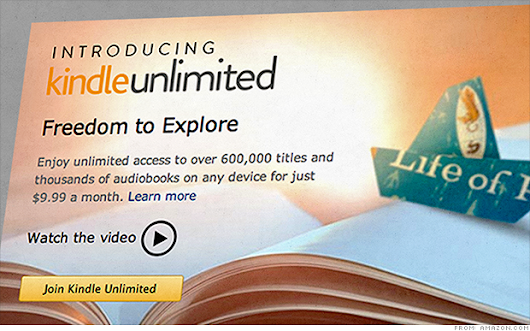 Amazon mulls Kindle Unlimited subscription service for e-books