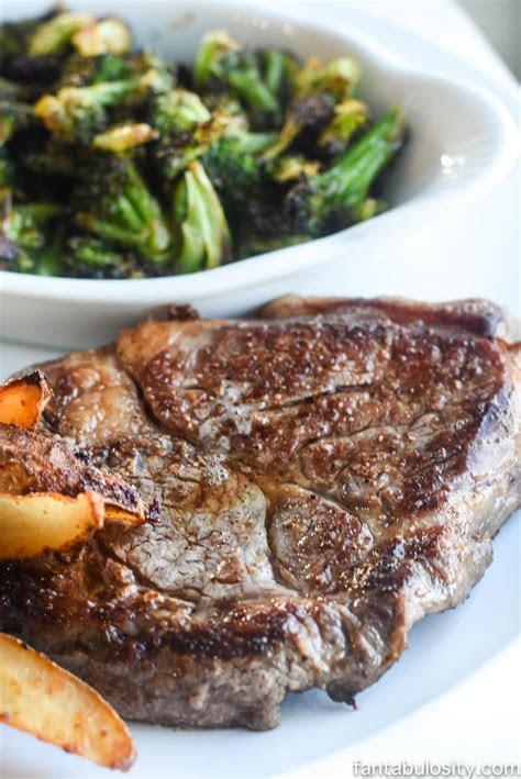 steak recipe easily pan seared baked   oven