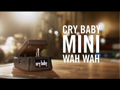 Meet The Cry Baby® Mini Wah - YouTube