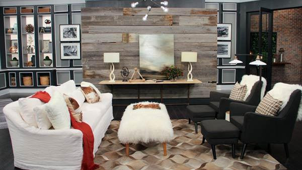 Get the Cabin Chic Look   Steven and Chris   The Live Well Network