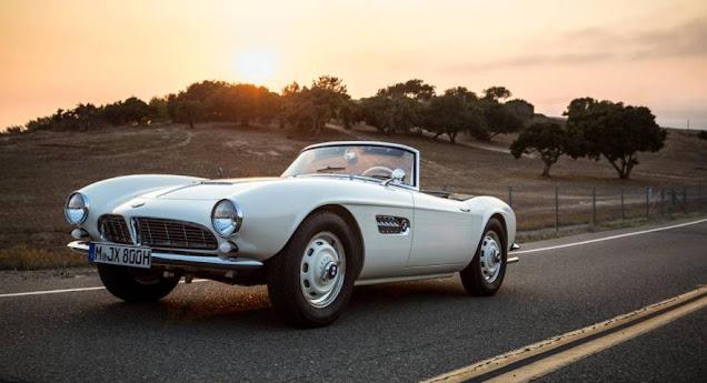 Elvis Presley's 507 leads BMW Goodwood Revival showcase | Autoclassics.com