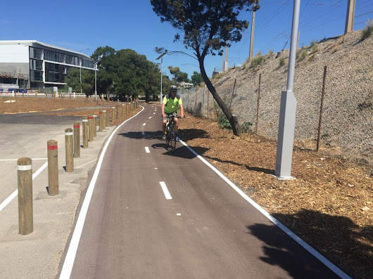 Fremantle's newest shared use path