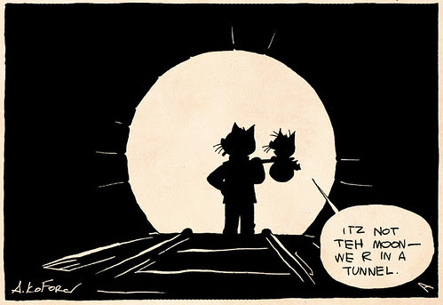Laugh-Out-Loud Cats #2185 by Ape Lad