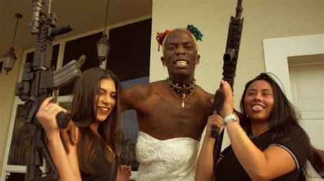 NewAge Jerkboy Wears Wedding Dress in 'Married to the Game
