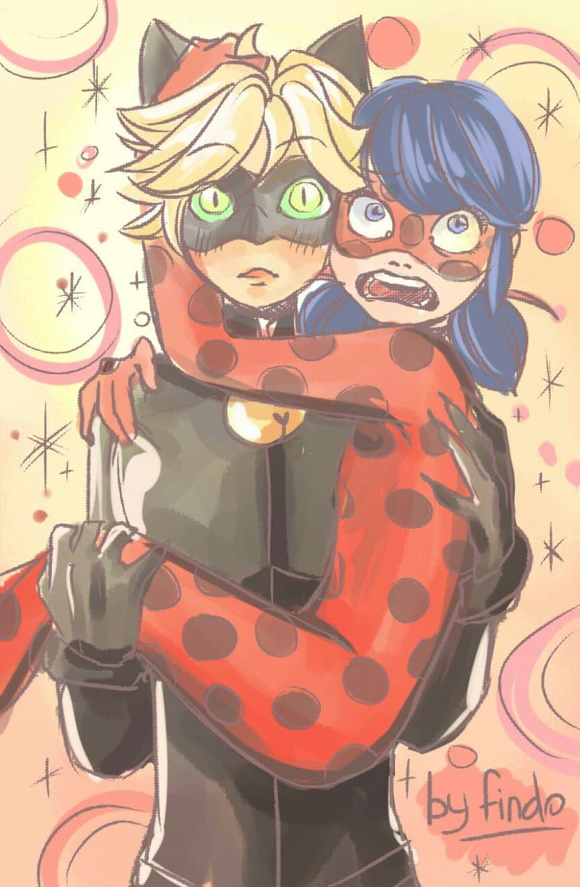 Noir ladybug sex cat und LadyBug &