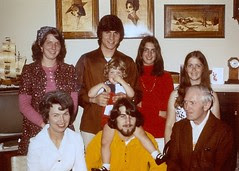 The Hillinger clan in the early 70's