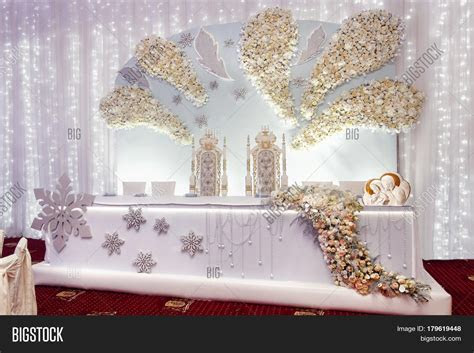Luxury Wedding Decor Arrangements Image & Photo   Bigstock
