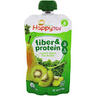 Happy Family Happy Tot Organic Stage 4 Fiber & Protein Pouch Pears Kiwi & Kale 4 oz.