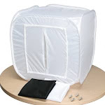 LIGHT TENT LB-20 - 20 IN. LIGHT TENT WITH BLACK AND WHITE SWEEPS