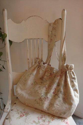 Linen Slouch purse 01
