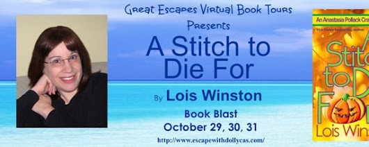A Stitch to Die For by Louis Winston Book Blast & Giveaway!