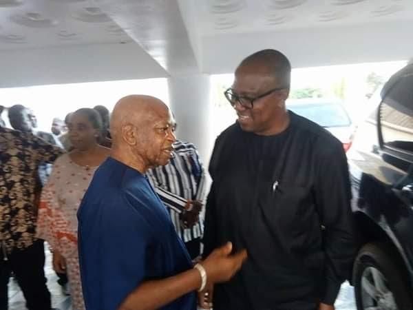 Arthur Eze Hosts Peter Obi At His Enugu Residence (Photos)