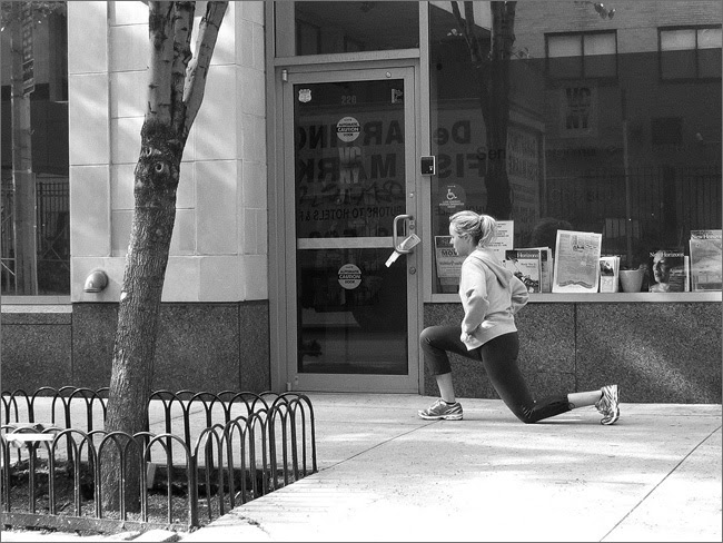 Leg Lunges, NYC