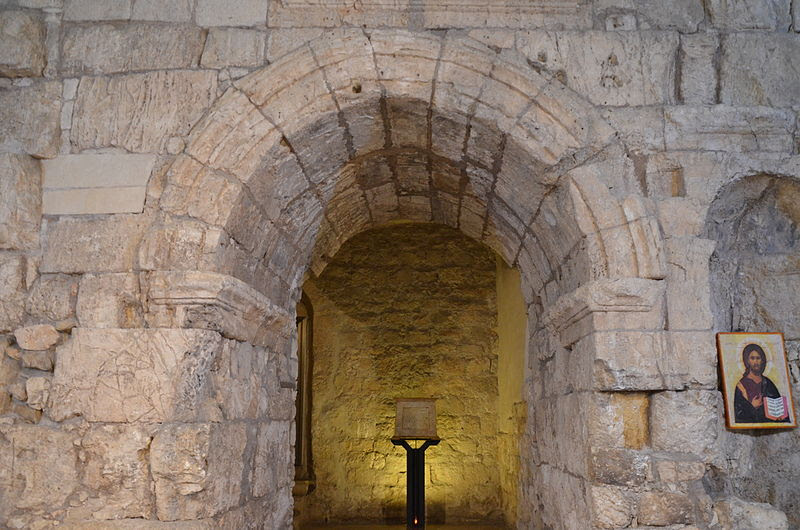File:The Ecce Homo arch, a triple-arched gateway, built by Hadrian, as an entrance to the eastern Forum of Aelia Capitolina, Jerusalem (15637643631).jpg