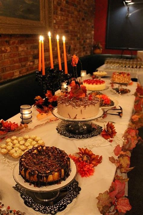 fall wedding dessert table   Cake / Pastel