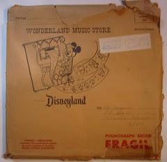 Wonderland Music Store mailer