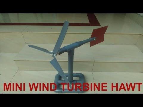 How to Make Small Horizontal Axis Wind Turbine