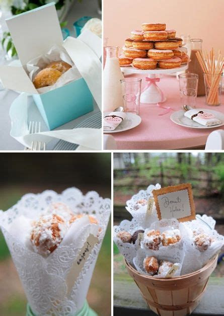 Donut Wedding Favors   Candy Bar & more // Buffets de