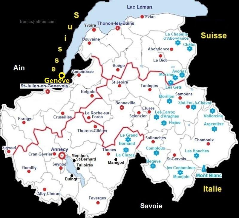 Carte Stations Ski Suisse