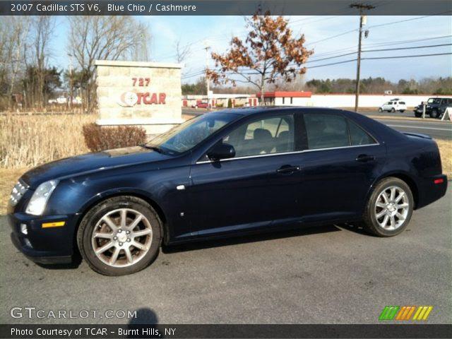 Blue Chip - 2007 Cadillac STS V6 - Cashmere Interior ...