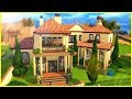 Spanish Style House Sims 4