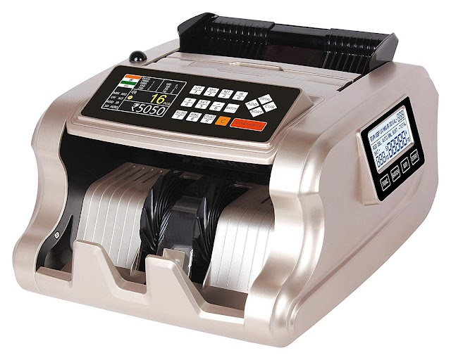 Metis Mix Note Counting Machine & Fake Note Detection (Best One)
