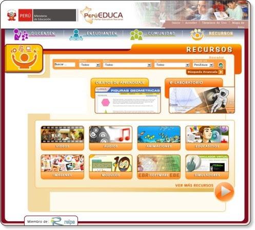 http://www.perueduca.edu.pe/web/visitante/recursos;jsessionid=CDCCBC4BD63204292984948452E17757