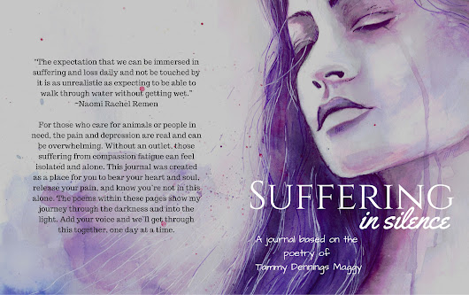 Helping Others With Their Journey: #SufferingInSilence Is Available #NotOneMoreVet #journaling