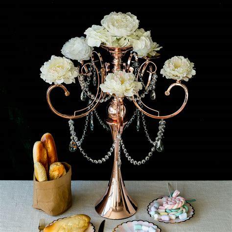 tall metal candle holder candelabra wedding