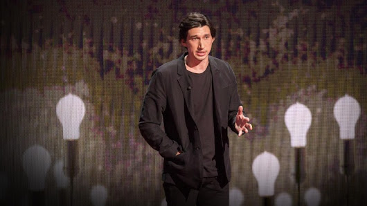 Adam Driver Gives a TED Talk About His Challenging Journey From Being a Marine to Becoming an Actor