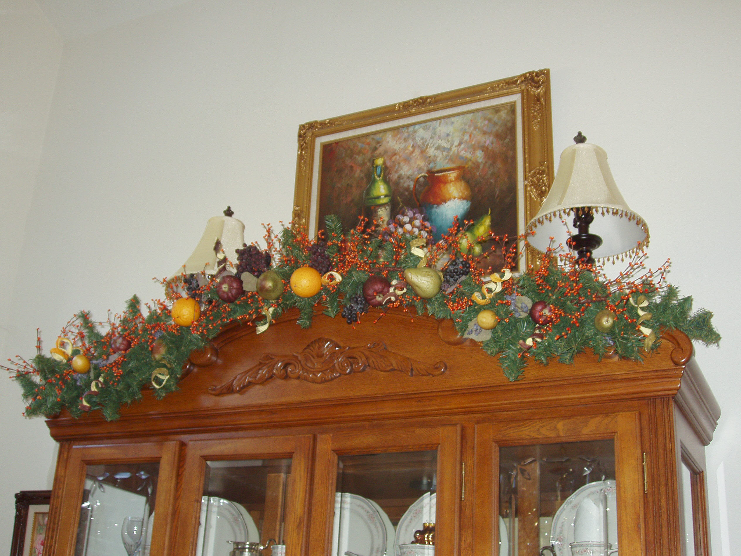 How To Decorate The Top Of A China Cabinet Dream House