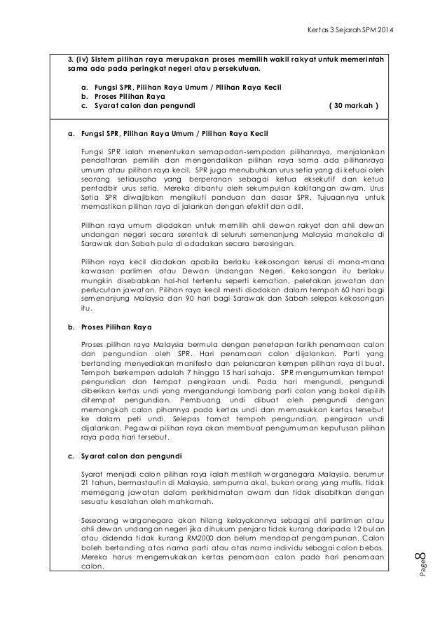 Contoh Soalan Dan Jawapan Kertas 3 Sejarah Spm 2014 Surakarta D
