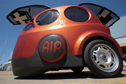 AIRPod from Zero Pollution Motors: The Power of Compressed Air