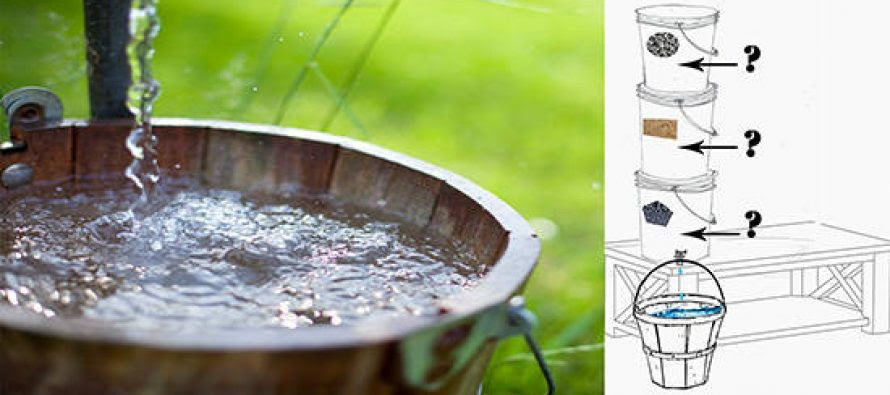 Building The Three Bucket Bio Water Filter Ask A Prepper