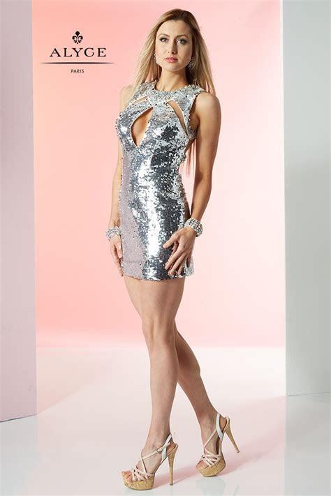 Alyce Paris 4431 Short Dress   MadameBridal.com