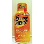 5-Hour Extra Energy Shot, Peach Mango - 1.93 fl oz bottle