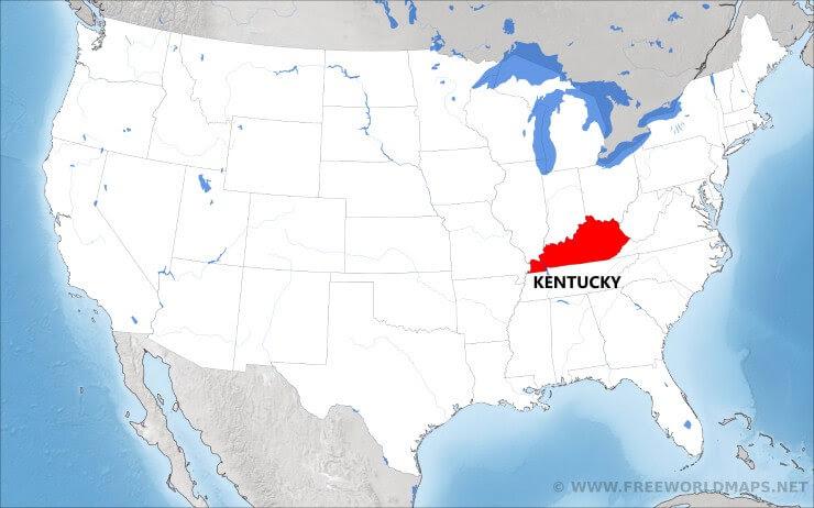where is kentucky