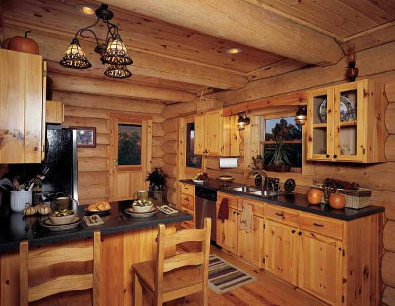 Rkdwup37 Rustic Kitchen Designs With Unfinished Pine Wtsenates