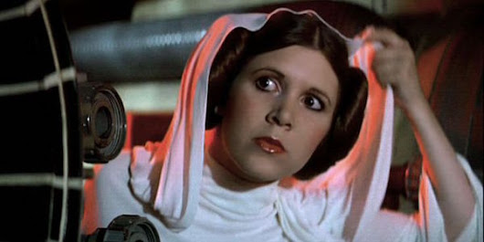 How Carrie Fisher Felt About That Rogue One Cameo - CINEMABLEND
