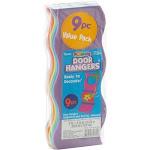 Foam Door-Hangers Wavy Assorted-Colors