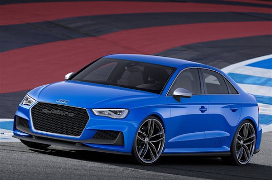 Audi A3 Clubsport Quattro concept revealed
