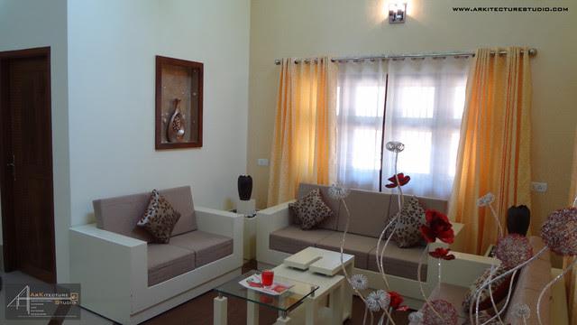 Living Room Designs Kerala Interior Design Project