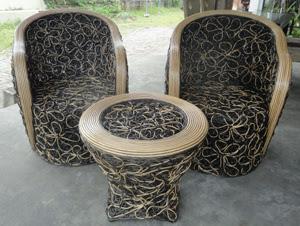 bali furniture set for interior